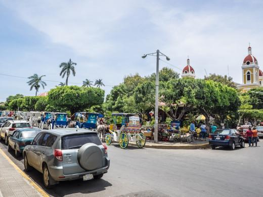 The Town Square, Granada, Nicaragua