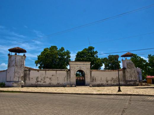 The old Granada Fort, Granada, Nicaragua