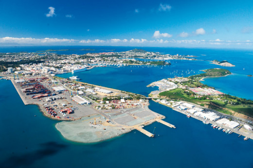 Noumea, New Caledonia Port