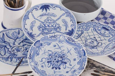 Delftware from Delft