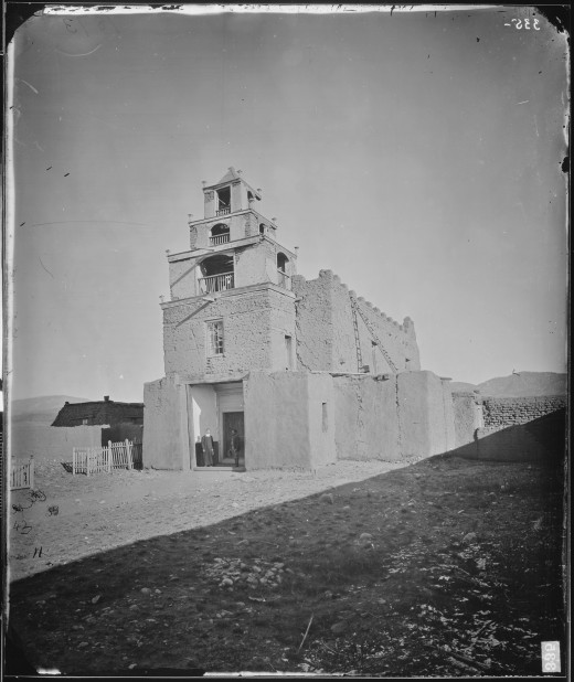THE CHURCH OF SAN MIGUEL, THE OLDEST IN SANTA FE, NEW MEXICO