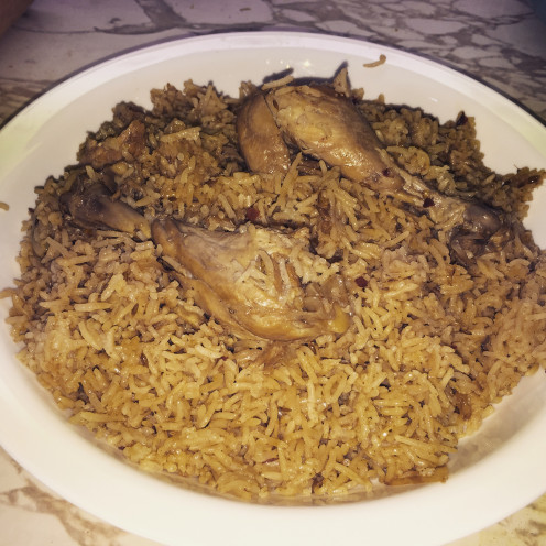 Serve with raita and salad or enjoy alone. This Chicken pulao is so flavorful there is no need for anything else