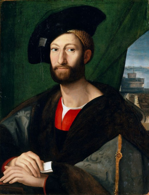 Anonymous, Portrait of Giuliano de' Medici (1490-1520), New York Metropolitan Museum of Arts
