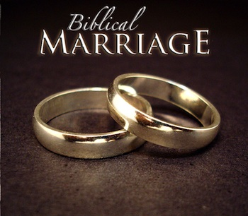 Religious conservatives often advocate for a Biblical view of marriage.