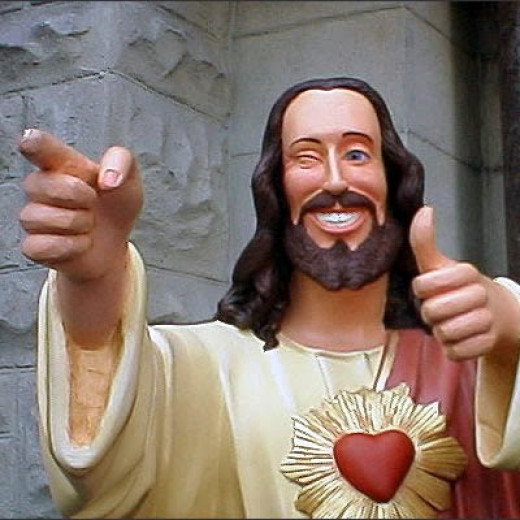Buddy Christ from the movie, Dogma