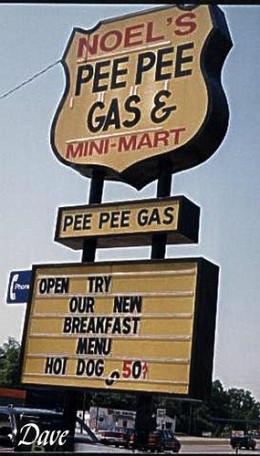 Pee Pee Gas Station