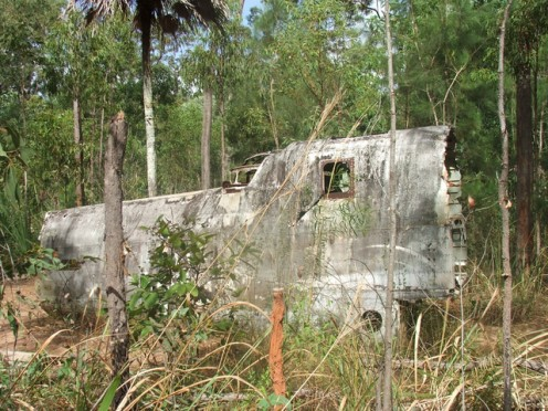 WW2 Bomber, Cape York, Bramaga, Queensland, Austraila