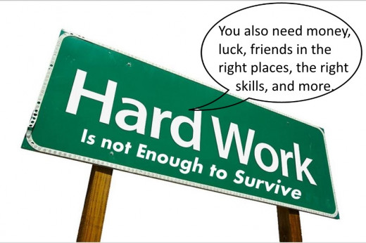 Hard work is not enough...