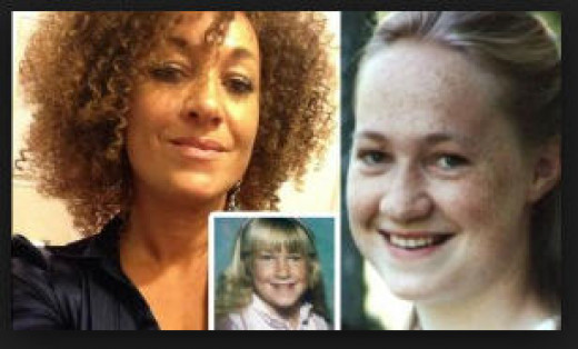 How she was allowed to pretend she was black is a mystery.