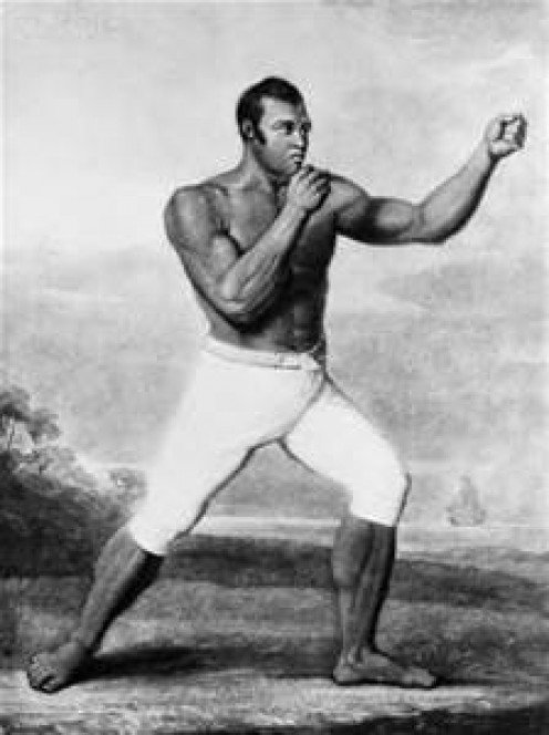 A pioneer in bare knuckle fights, Molineaux was a top heavyweight of his day.