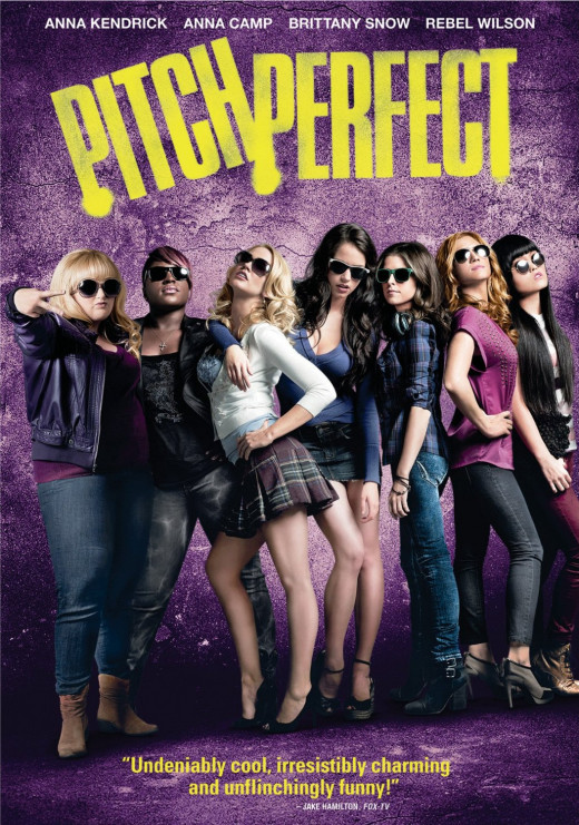 "Promotional poster of the movie ""Pitch Perfect"""
