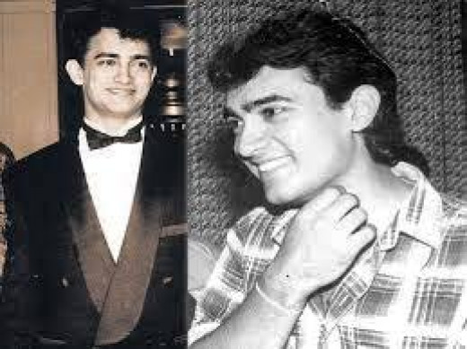 Aamir Khan in his early days