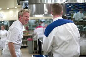 """Gordon uses his favorite line on """"Hell's Kitchen,"""" """"Get out, you donkey!"""""""