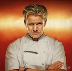 The man, Gordon Ramsay.