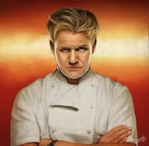 The man, Gordon Ramsay.