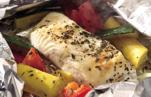 Foil Packet cooking is ideal for fish and seafood which cooks very quickly.