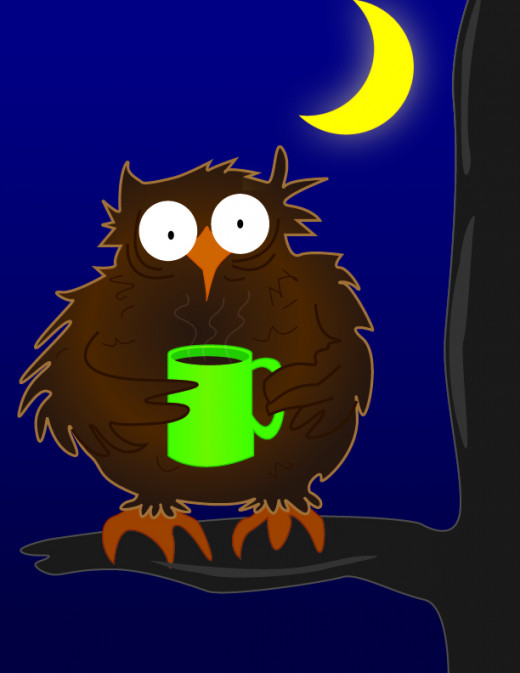 The Night owl for the night owl post