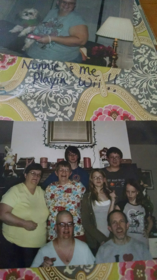 My Stephanie in the front row with my precious nephew whose death a few years ago was very difficult for each of us who knew him.