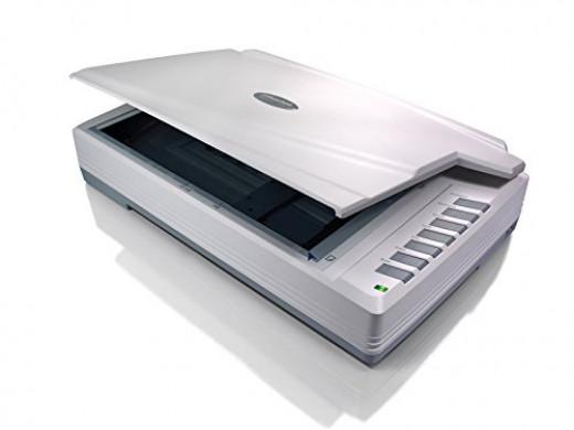 Plustek Optipro A320 A3 Scanner 1600DPI USB2.0 A3 Clr Size