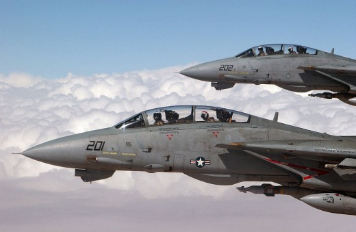 US Navy F-14 Tomcats
