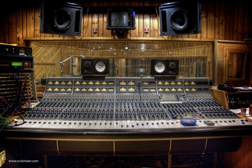 Neve 8068 recording console