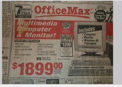 Computers: A Reminder of What 1995 Was Like
