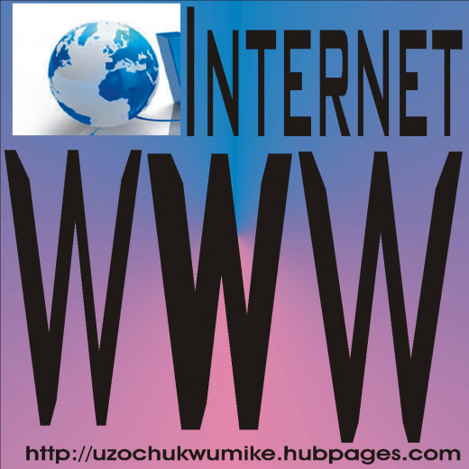 Most websites start with www. The www means world Wide Web.