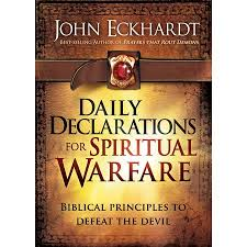 Declaration Is A Pebble In Spiritual Battles.
