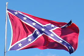 The Confederate Battle Flag, also known as the Southern Cross.