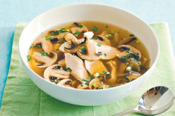 Chicken Mushroom Soup Recipe.