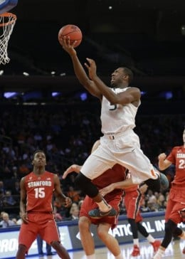 Davon Reed will see the ball much more as a senior.