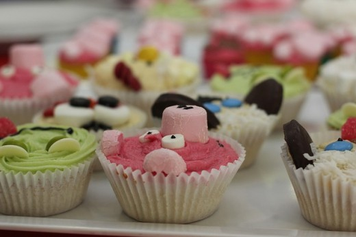 You can also make a pig on a cupcake
