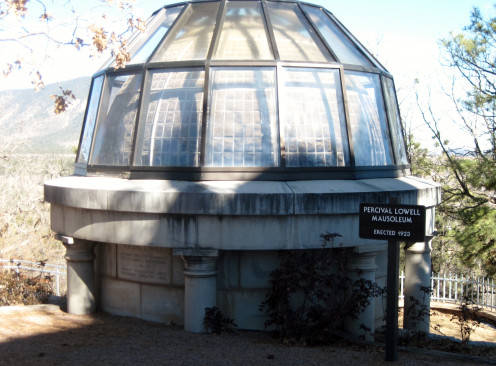 Percival Lowell's Mausoleum located on Mars Hill at Lowell Observatory