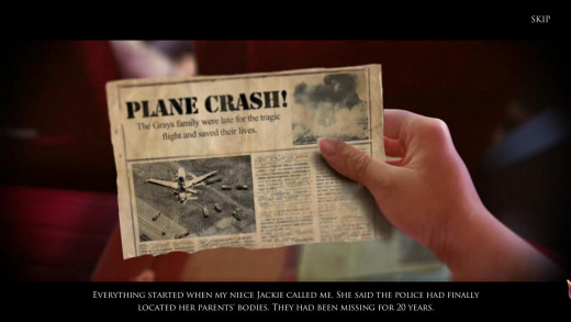 Papers published breaking news about plane crash...