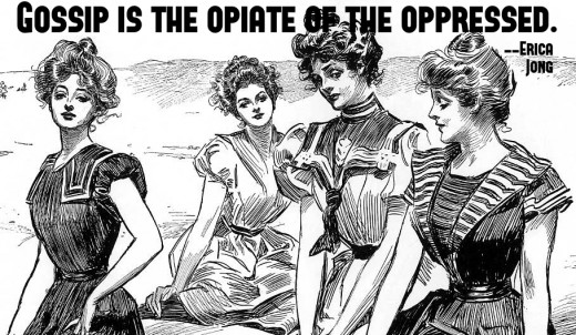 Gossip and the Pecking Order of Women