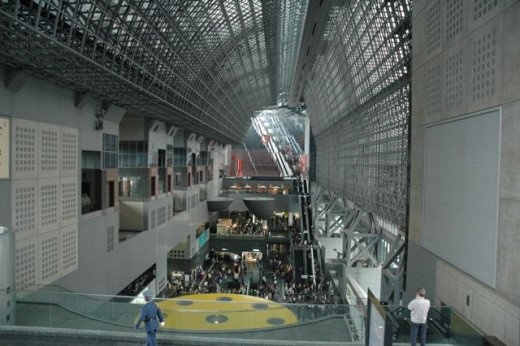 Kyoto JR Station escalator