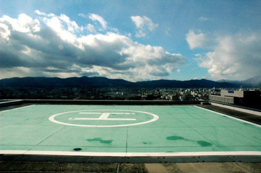 Kyoto JR Station Helipad
