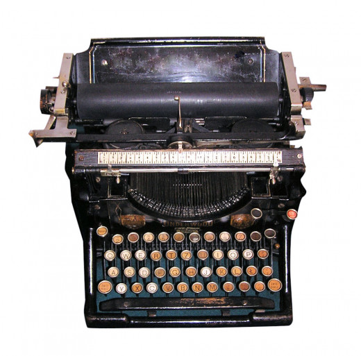 The really old way to type and today it becomes a high quality image