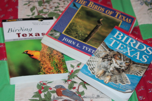Three books for home state birding helps