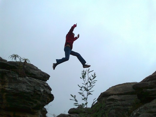 How much courage do you need if you want to take a big leap and quit your job?
