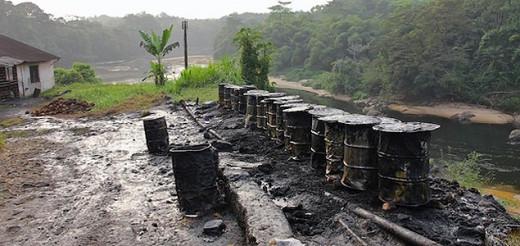 Methane rich sludge (waste) from sugar plantations