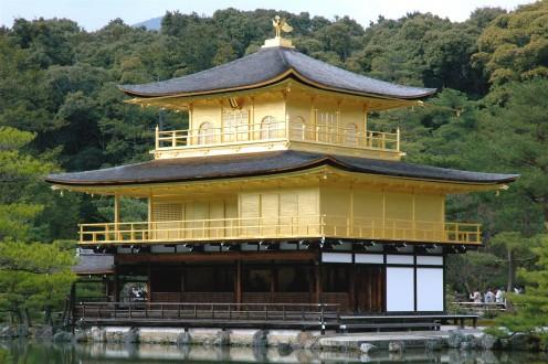 Kinkakujindera Temple Kyoto Japan