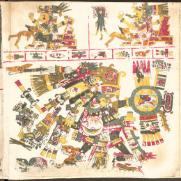 Another of the Aztec representations of the gods and goddesses.