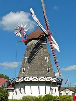 Elk Horn Danish Windmill