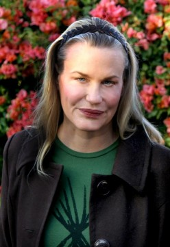 Daryl Hannah after plastic surgery to recapture her youth.