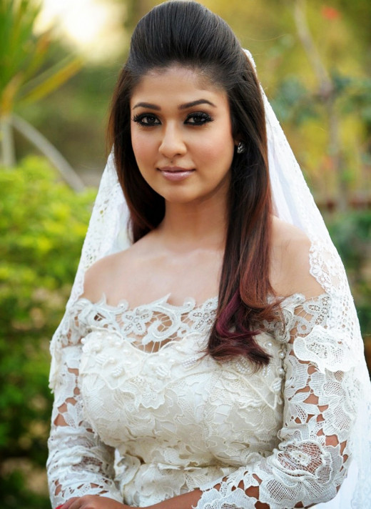 In Gorgeous White Christian Bridal Outfits