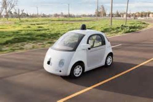 Google and later on BMW introduced cars that drive on their own.