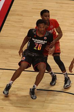 Rashad Vaughn at the 2014 McDonald's All-American Game