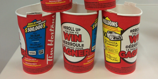 Who doesn't love Roll Up The Rim