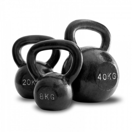 Some kettlebells of various weights